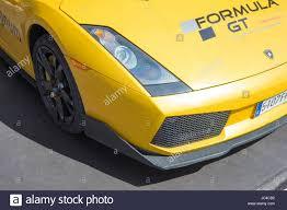 Lamborghini Gallardo New Model - barcelona spain october 5 2016 detail of new model of stock