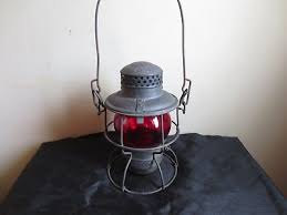 antique kerosene l globes antique adlake kerosene oil lantern l red globe vintage railroad