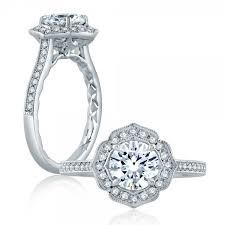 classic engagement ring a jaffe platinum classic engagement ring me2191q tq diamonds