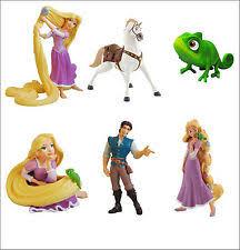 tangled cake topper rapunzel figures disney characters ebay