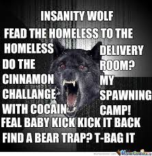 Meme Insanity Wolf - insanity meme 28 images insanity meme insanity wolf galore by