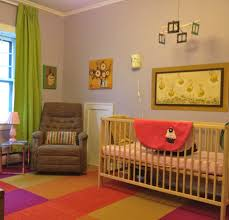 Yellow Baby Room by Bedroom Modern Baby Nursery Ideas Feature White Wooden Crib Grey