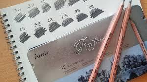 marco raffine sketching pencils review aliexpress shopping youtube