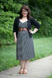 what i wore loft striped sun dress wardrobe oxygen