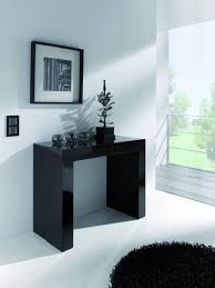 Console Dining Table Black Gloss Console Table