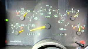 erratic temp gauge on 1993 chevy 1500 youtube