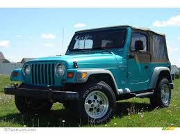 jeep wrangler turquoise for sale jeeps parking next to other jeeps page 9 jeep wrangler tj forum