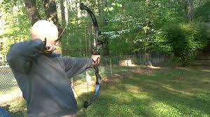 high country snyper compound bow shooting in the backyard youtube