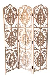 Wicker Room Divider Vintage Wicker Peacock Room Divider 3 Panel Screen Chairish