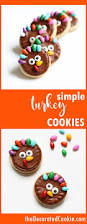 healthy thanksgiving treats for kids turkey cookies for thanksgiving dessert