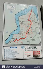Lake Como Italy Map Layout Map Of The Peak Station Of The Rack And Pinion Railway At
