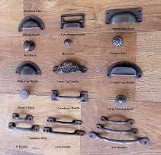 Wrought Iron Kitchen Cabinet Hardware Cast Iron Cup Handle Kitchen Cupboard Door Handle Knob Antique
