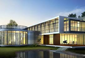 grea nice design modern glass house exterior designs with modern