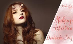 devil halloween make up maquiagem diabinha devil tutorial makeup halloween