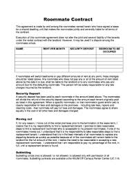 free roommate agreement template fillable roommate lease agreement template edit online