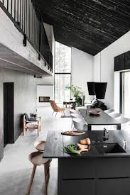 Contemporary Interior Designs For Homes by Best 10 Monochrome Interior Ideas On Pinterest Hairpin Table
