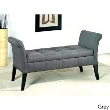 Grey Upholstered Ottoman Bed Upholstered Ottoman Storage Bed Etechconsulting Co
