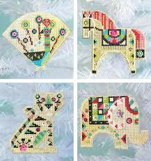 paper cross stitch kits stitched modern