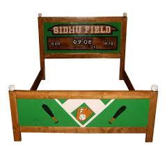custom made queen bed frame sports theme baseball football