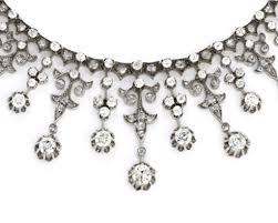 platinum necklace diamond images Impressive victorian diamond gold silver platinum necklace for jpg