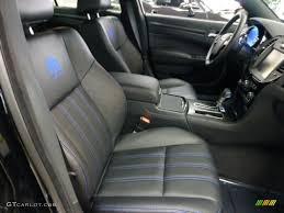 black blue accents interior 2012 chrysler 300 s mopar u002712 edition