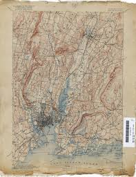 New London Ct Map Connecticut Historical Topographic Maps Perry Castañeda Map