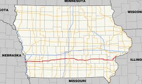 Map Of Iowa State University by Iowa Highway 92 Wikipedia