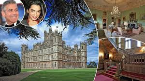 downton abbey u0027s highclere castle to play host to george clooney u0027s