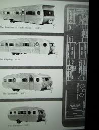 original brochure showing several models along with available