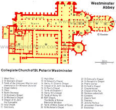 westminster abbey floor plan map ideas for the house