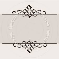 ornament border vector illustration by createfirst vectors