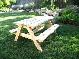 Foldable Picnic Table Bench Plans by Picnic Table Bench Plans U2013 Amarillobrewing Co