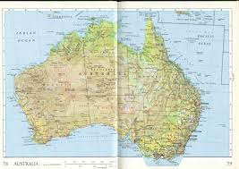 map of austrilia large detailed relief and administrative map of australia with