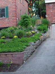 Landscaping Ideas For Sloped Backyard by Triyae Com U003d Ideas For A Sloped Front Yard Various Design