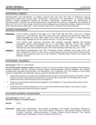 Sample Sql Server Dba Resume by Linux Admin Sample Resume System Administrator Resume Examples