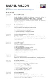 Scientist Resume Examples by Research Scientist Resume Samples Visualcv Resume Samples Database