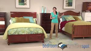 Broyhill Furniture Bedroom Sets by Broyhill Hayden Place Bedroom Set Youtube