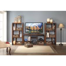 Landon Desk With Hutch by Landon Tv Stand With Cube Organizer For Flat Panel Tv U0027s Up To 45