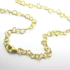 gold chain heart bracelet images 56 all gold chain necklaces junk 4 joy gold chain and pearl jpeg