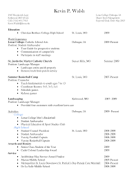 what a resume cover letter should look like what should a college application resume look like write properly cover letter what should a college application resume look like write properly sample for high school