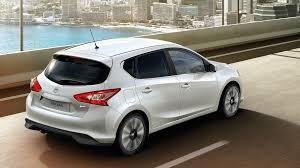 stanced nissan leaf design nissan pulsar hatchback family car nissan