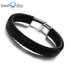 man wrist bracelet images Genuine leather simple men bracelet wrap wristband for men classic jpg