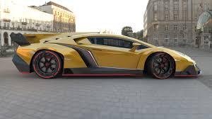 Lamborghini Veneno Exterior - artstation lamborghini veneno 2013 cauê oliveira