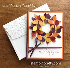 stampin up thanksgiving cards ideas i u0027m lovin u0027 the stampin u0027 up leaf punch stampin u0027 pretty