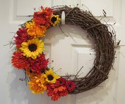 fanciful fall wreath ideas fall wreath ideas shelterness to