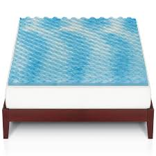 big one gel memory foam mattress topper
