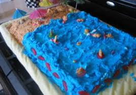 beach birthday cake duncan hines