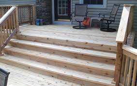 cedar decks deck installation america u0027s backyard joliet il