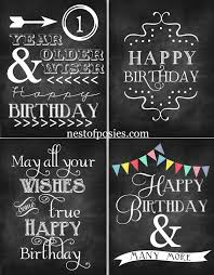 birthday chalkboard happy birthday chalkboard printables nest of posies
