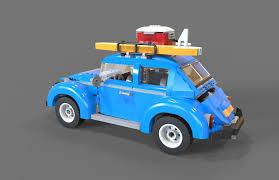 volkswagen lego lego car volkswagen beetle 3d model cgtrader